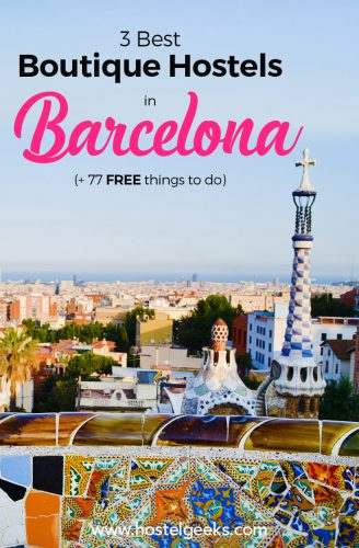Best Boutique Hostels in Barcelona