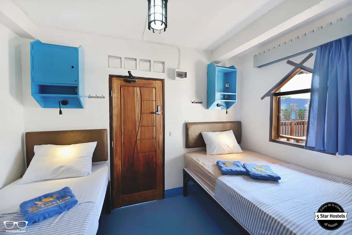 Double room at Gili Mansion