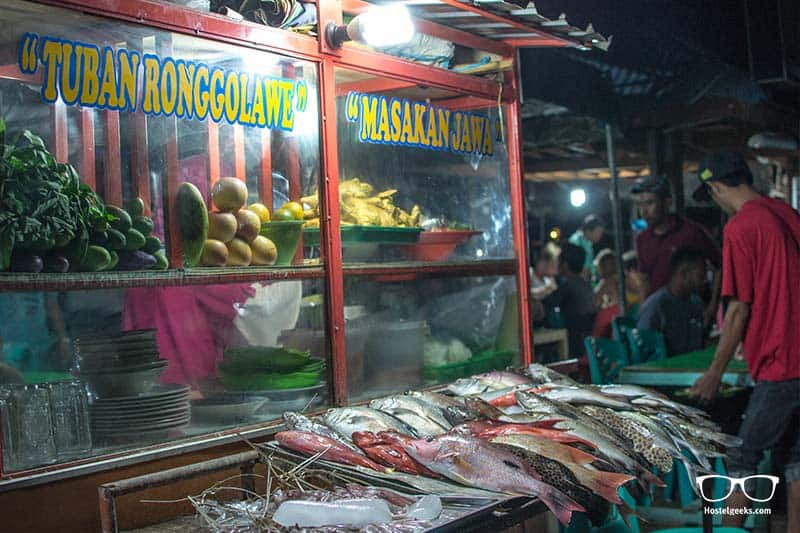 Local Fish Market in Labuan Bajo