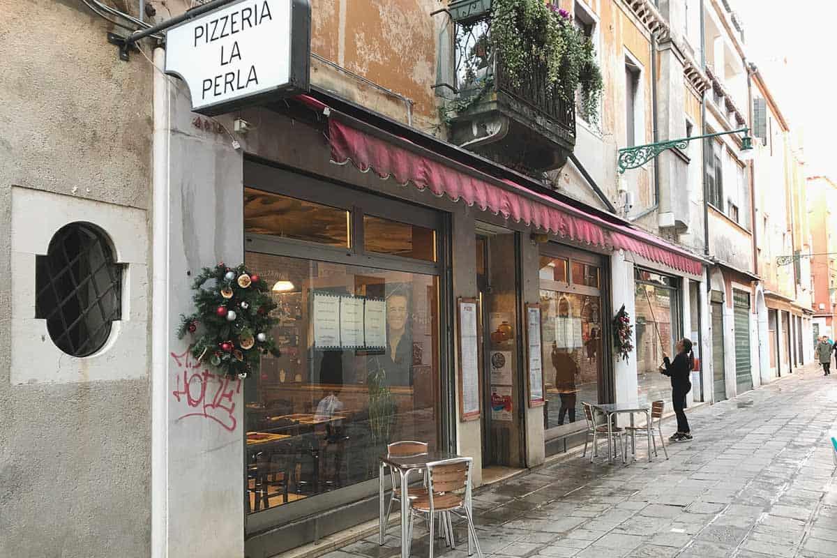La perla, pizzeria in Venice