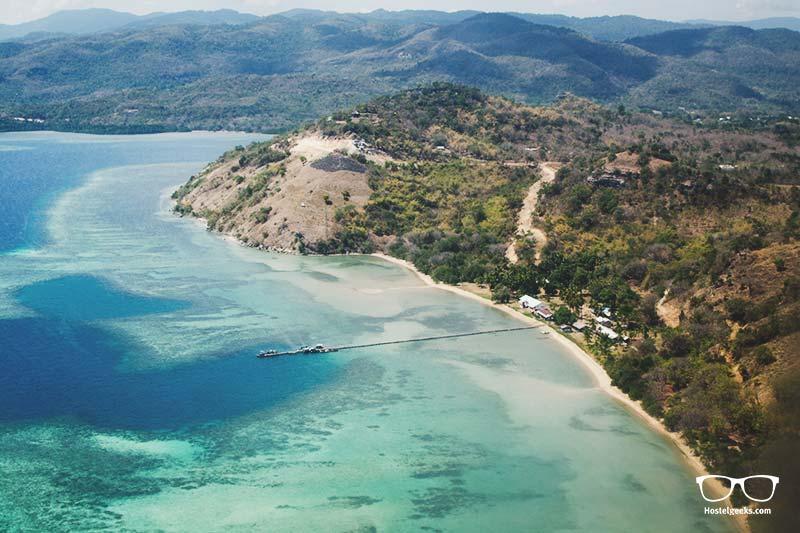 Labuan Bajo from above