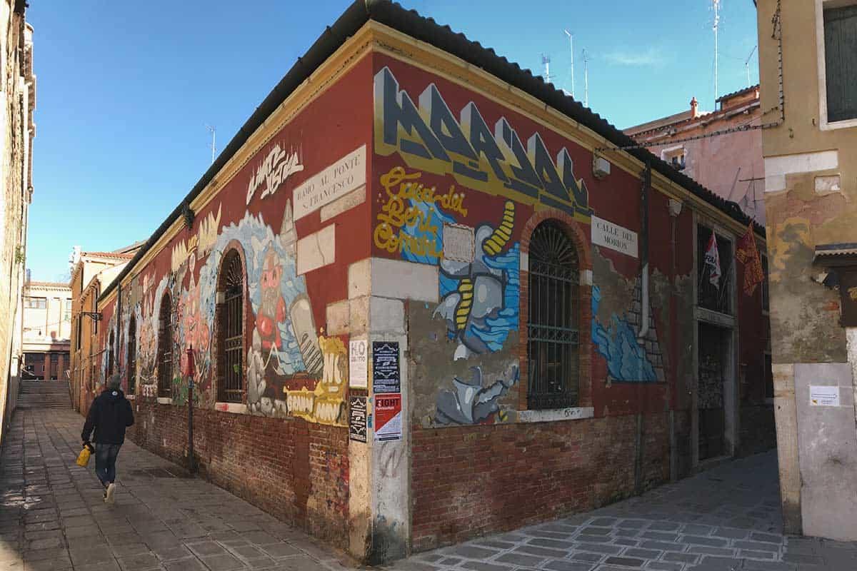 Moron, social place in Venice