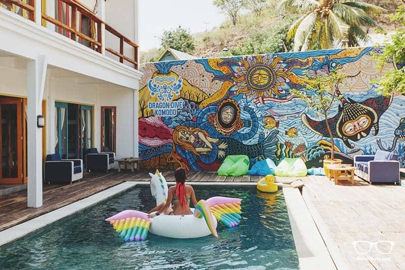 Dragon Dive Komodo Hostel - it's a 5 Star Hostel Resort