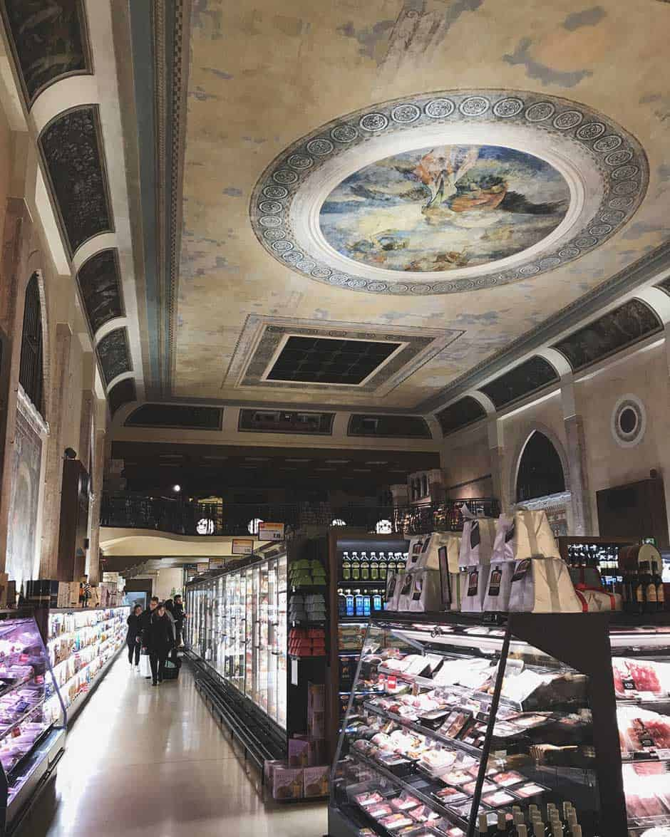 The most beautiful supermarket in the world in Venice