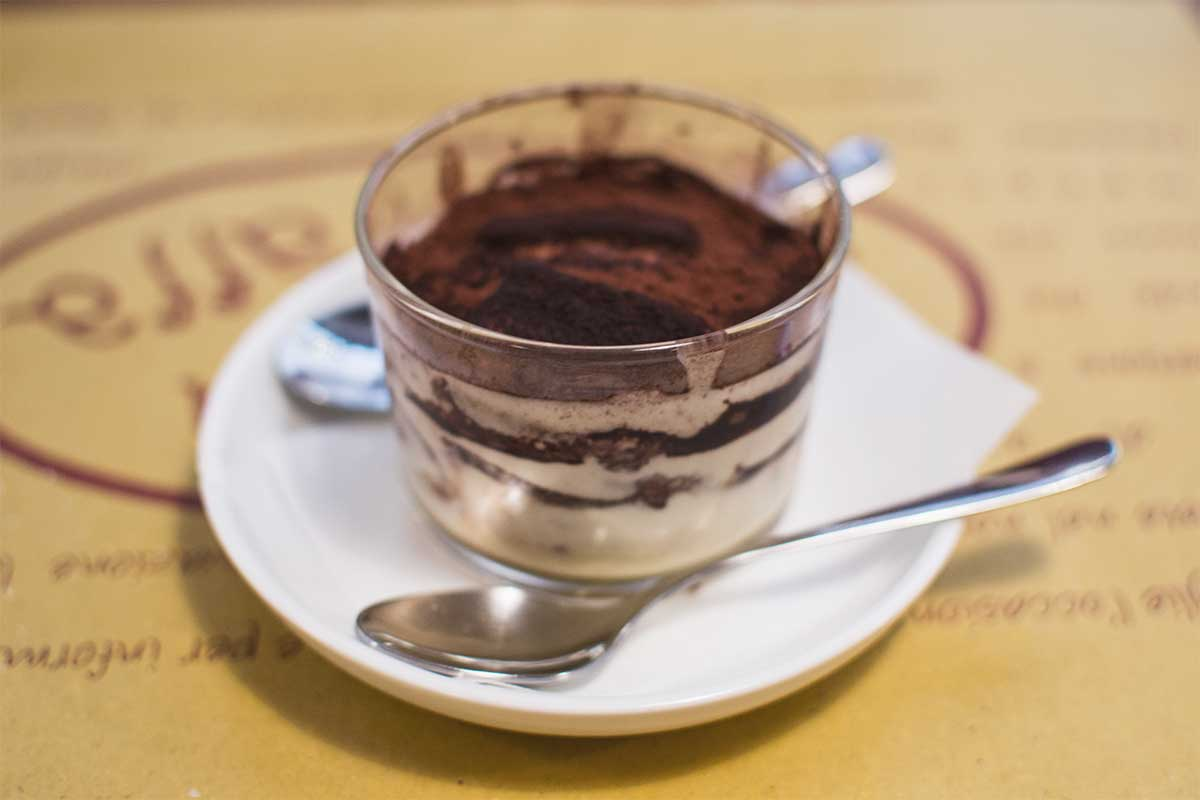 Wanna taste a good tiramisu in Venice?