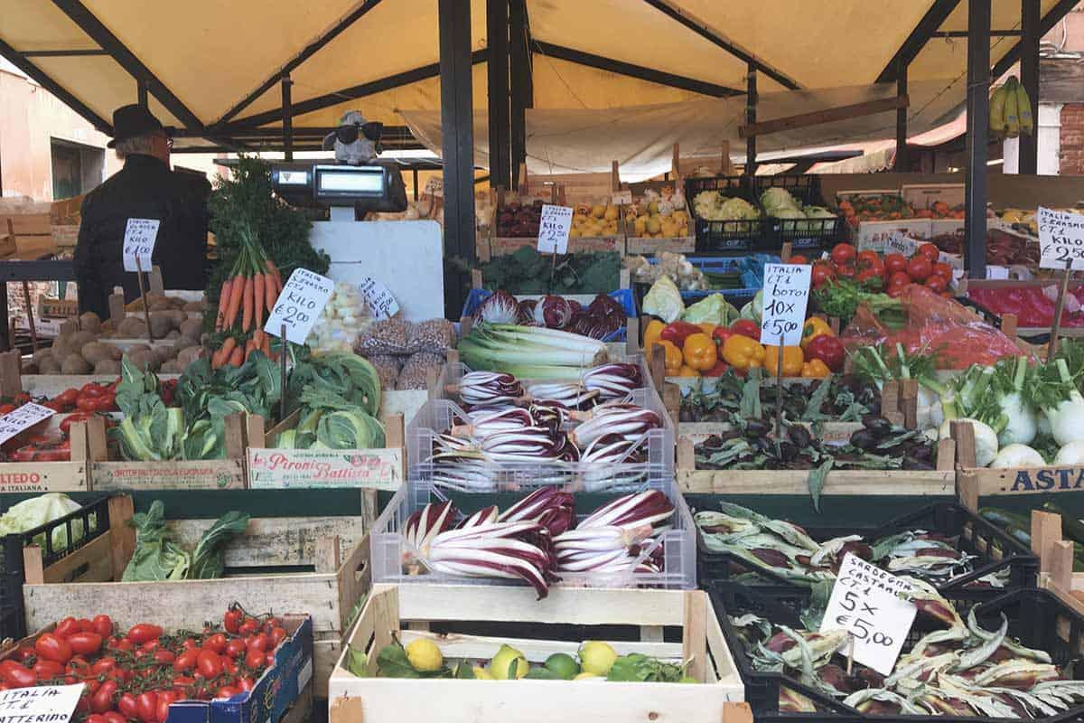 Local Market in Venice