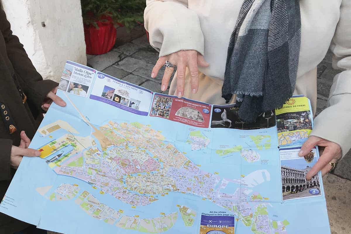 Food tour in Venice, explanation about the city