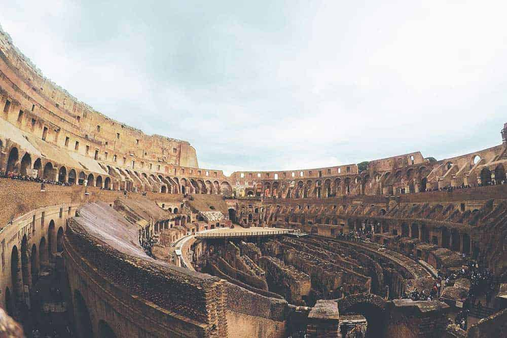 Visit the Colosseum in Rome