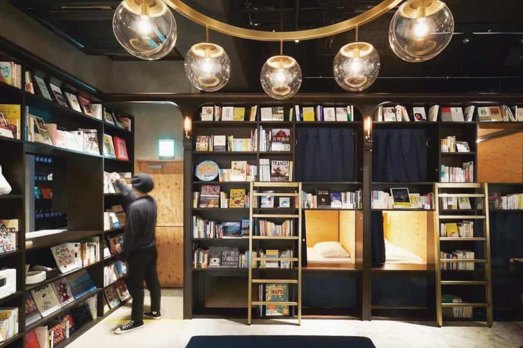 Books lover, this hostel is your paradise