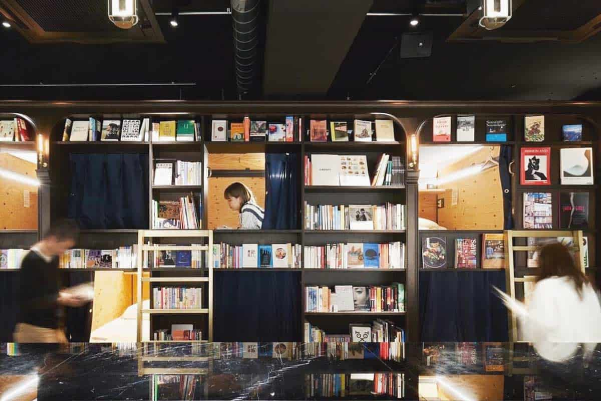 Book and Bed hostel in Tokyo