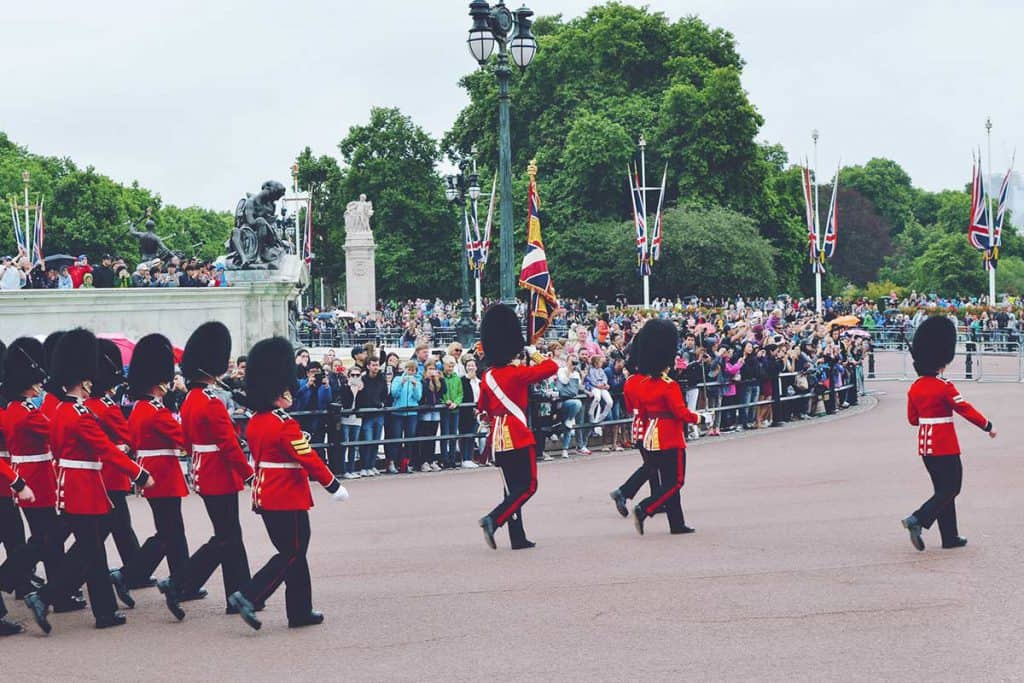 Change of Guard in London