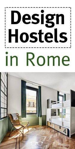 Design hostels in Rome