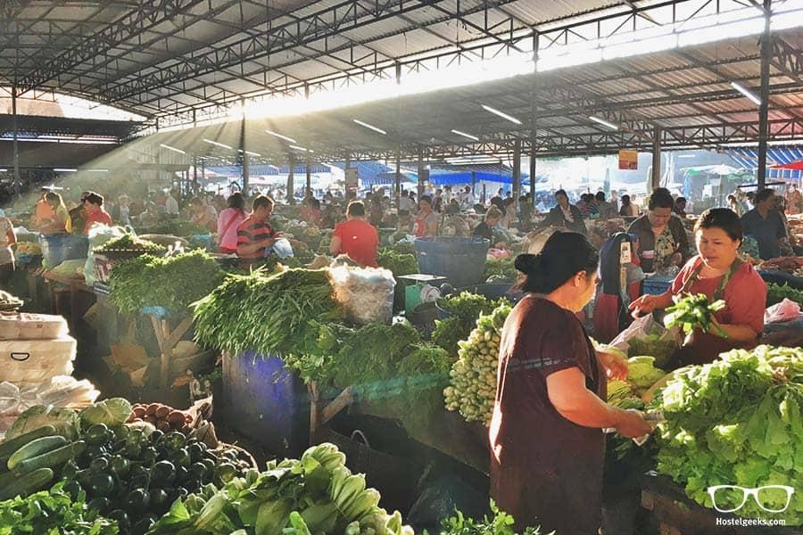 Fresh market Thong Khun Kham Market