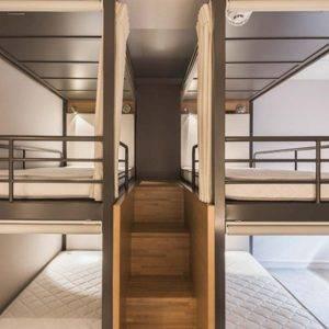 Dorm at Grids Hostel in Akihabara, Tokyo