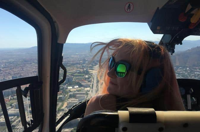 Helicopter Ride in Barcelona