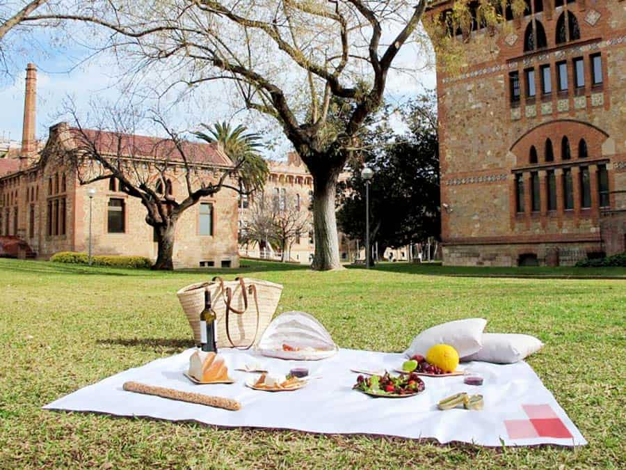 Romantic Things to do in Barcelona: A Picnic wherever you want