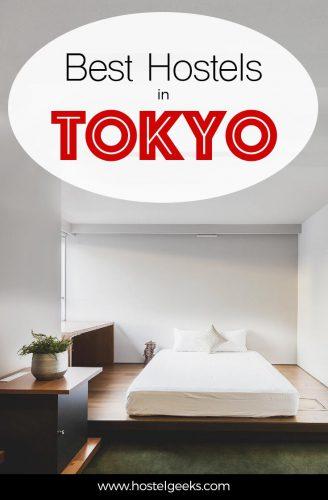 3 best hostels in Tokyo