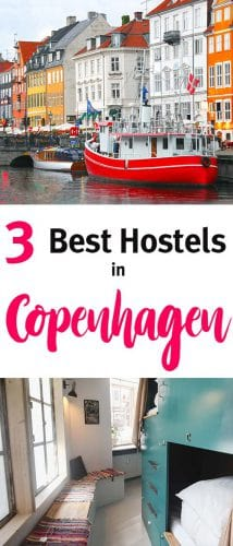 Where to stay in Copenhagen? Here you have the best hostels