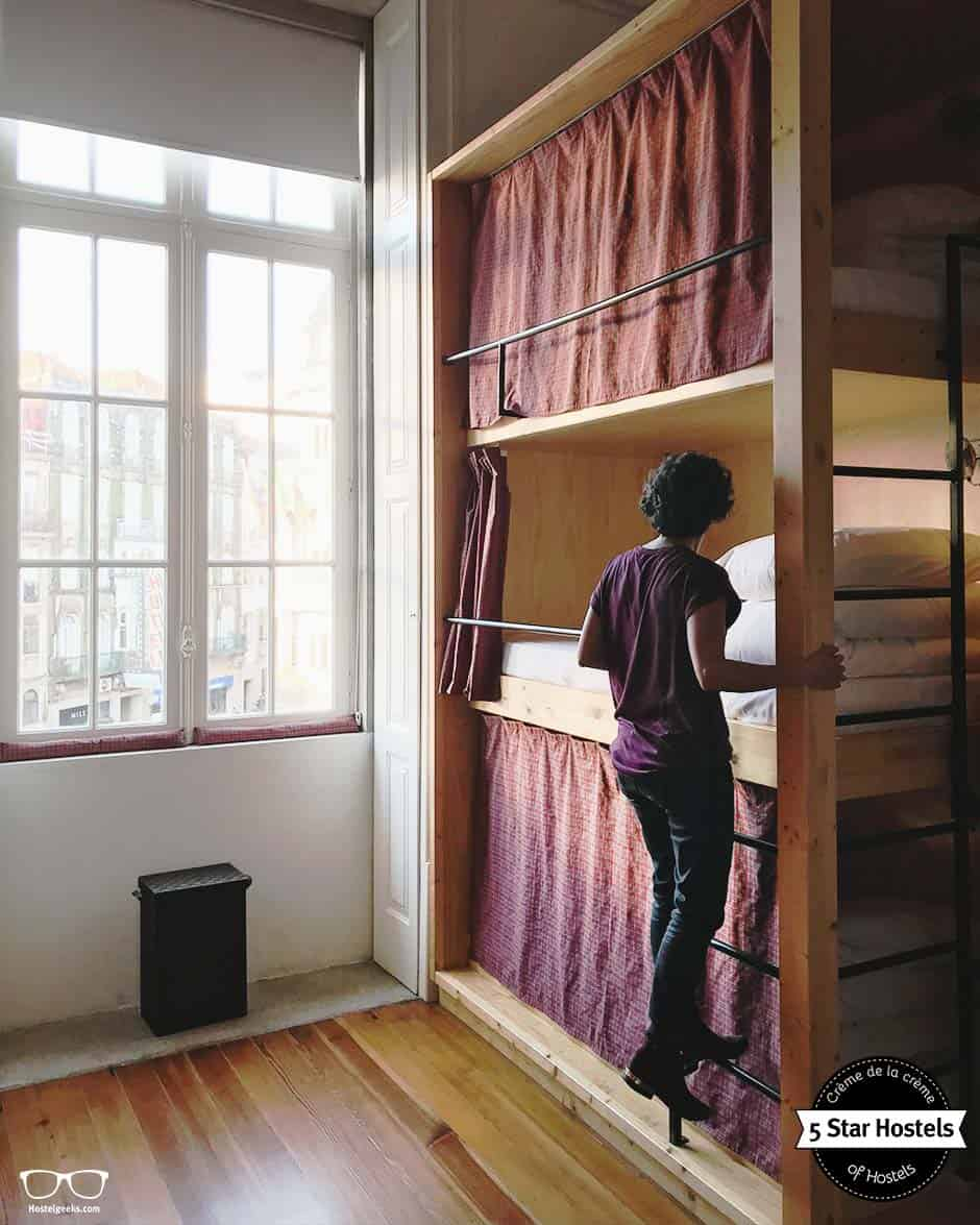 Carefuly designed dorms with handmade, tailored wooden bunk beds - this is the kind of hostel you will enjoy from now on!