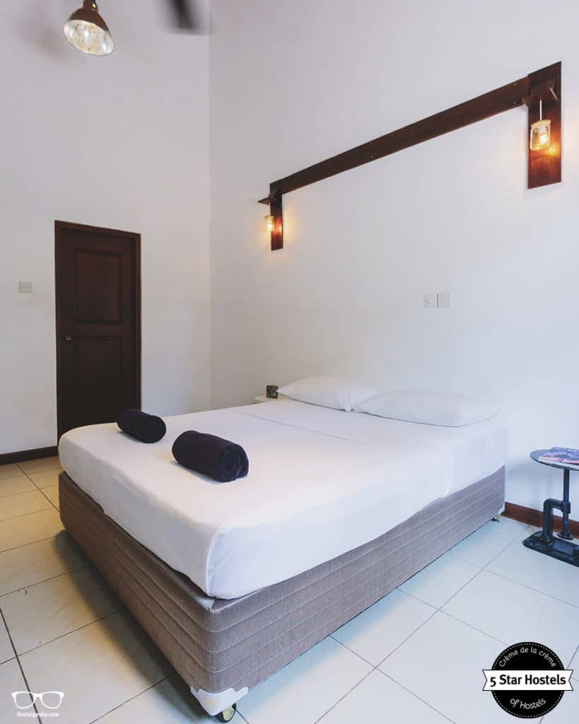 Private room at Bunkyard hostel, Colombo