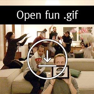 Fun Gif Hostel Animation
