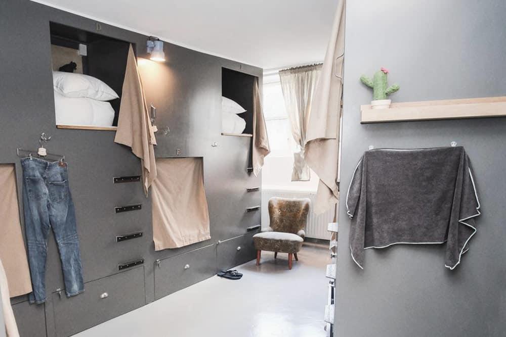 Room at Woodah Hostel Copenhagen