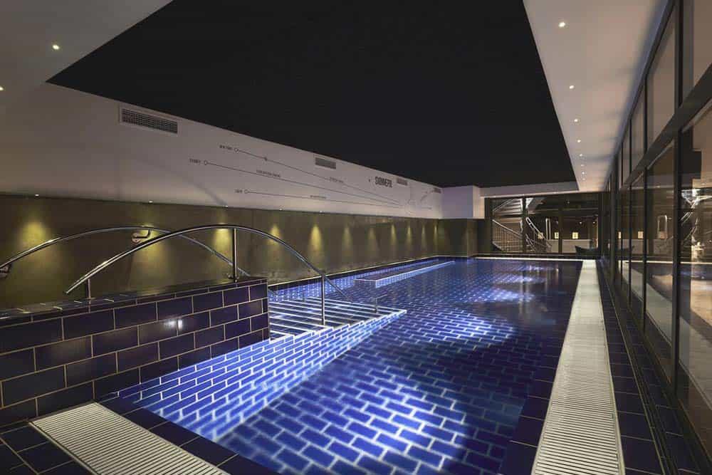Hostel swimming pool in Copenhagen