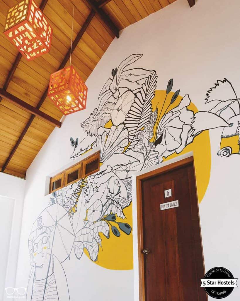 Ladies room onlly at Bunkyard Hostel, Sri Lanka