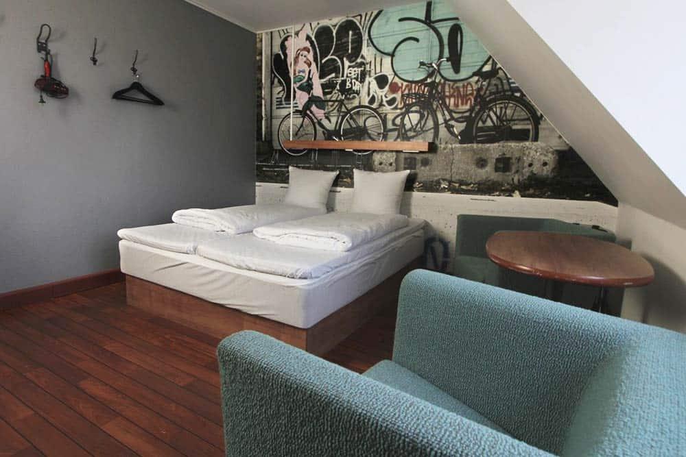 Private rooma at Urban House Copenhagen