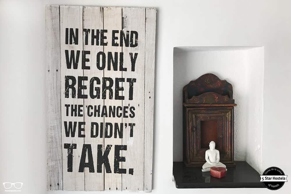 Quote at Bundyard Hostel