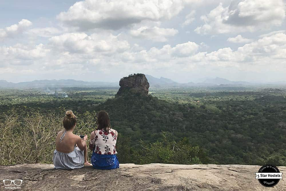 Climb Lion rock, one of the best things to do in Sri Lanka