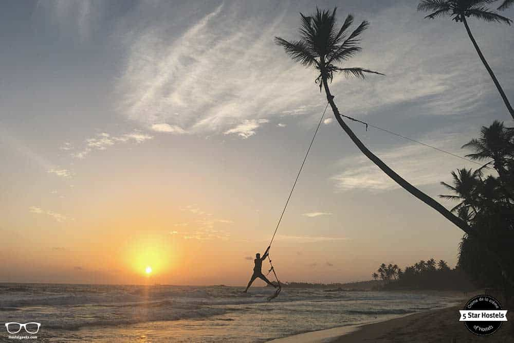 Discover the famous swing in Sri Lanka