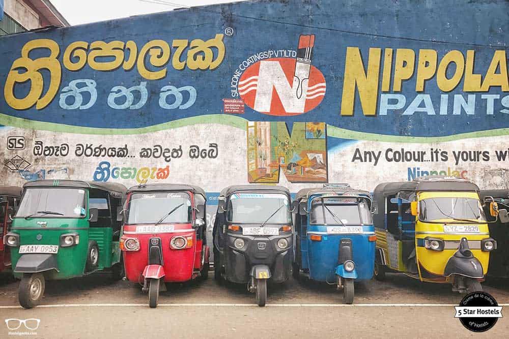 Take a tuk tuk ride in Sri Lanka