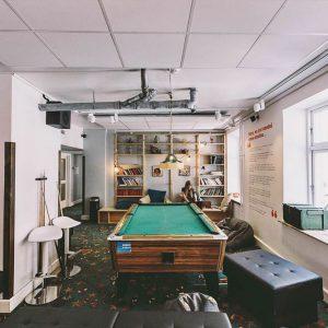 Game rooms hostel Copenhagen