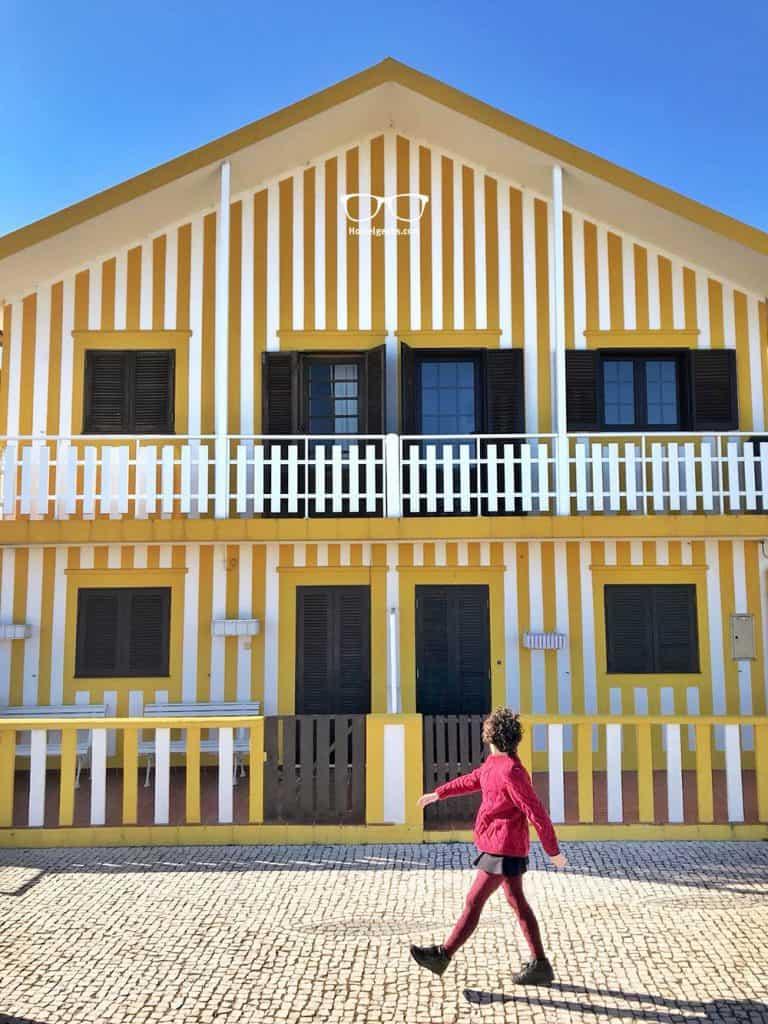 Costa Nova in Portugal, just a perfect day trip from Porto