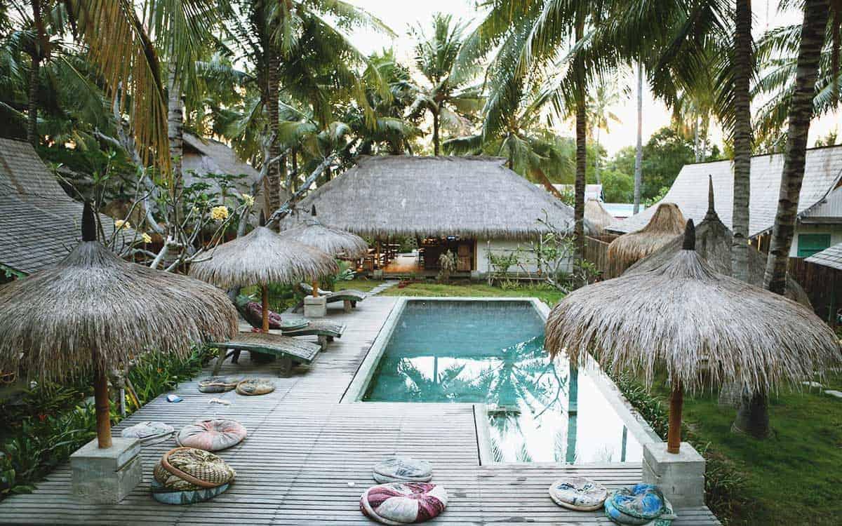 Captain Coconuts Gili Air - a dreamy resort on a paradise island Gili Air