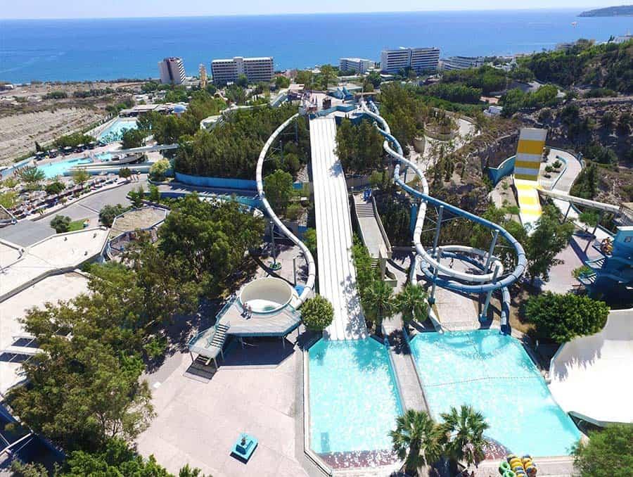 Fun Park in Rhodes, Greece