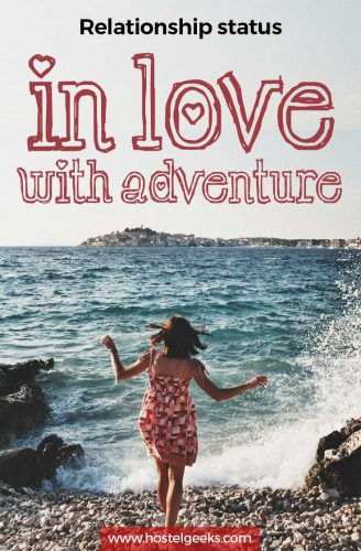 Relationship status: In Love with adventure