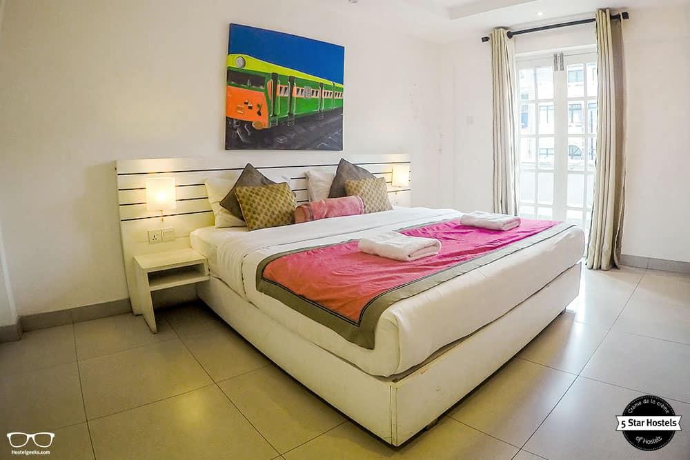 Spacious room at Clock Inn Kandy