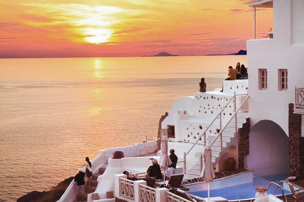 Where to stay in Santorini? For a romantic escape, book an adults only hotel