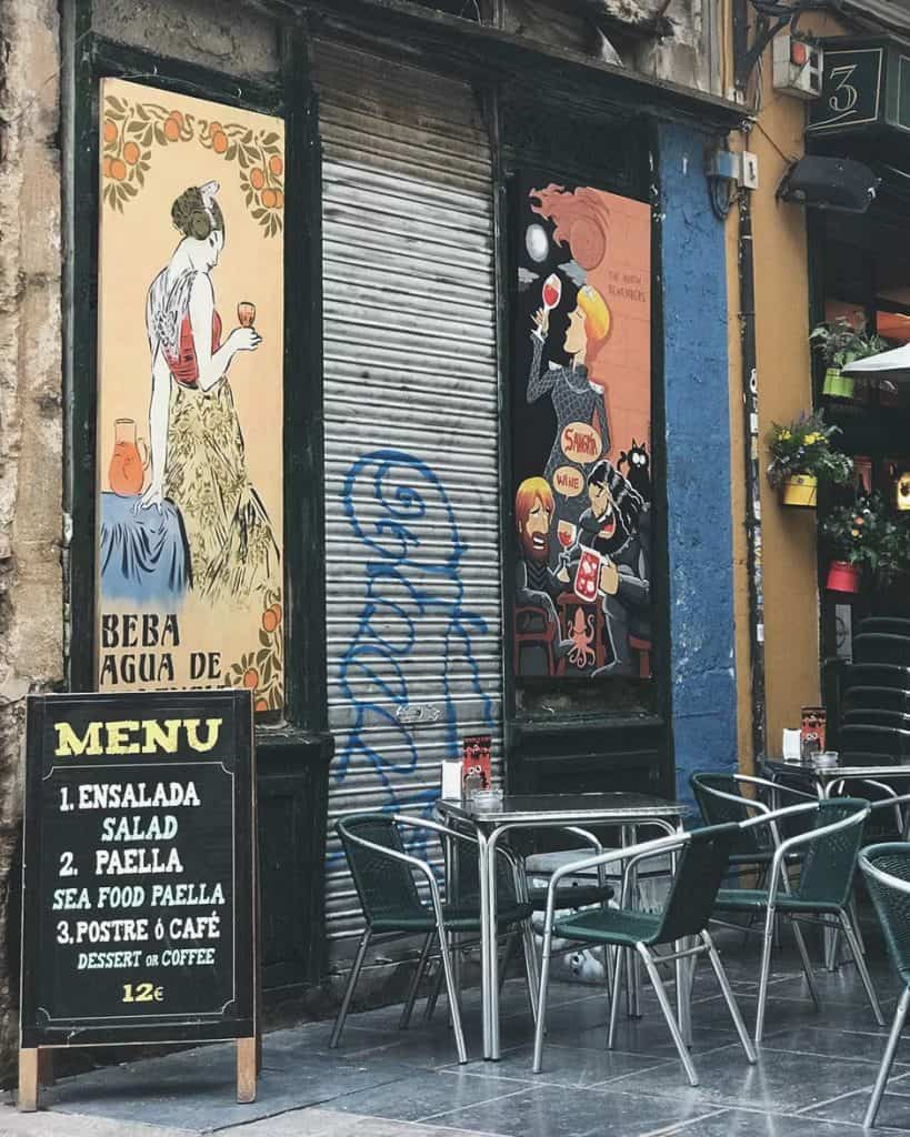 Join the locals and try Agua de Valencia while in Valencia