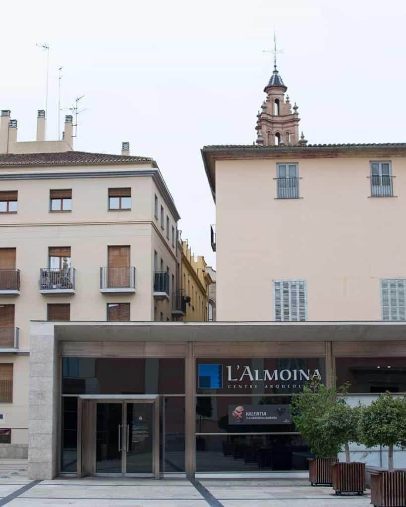 Almoina, archeological center in Valencia