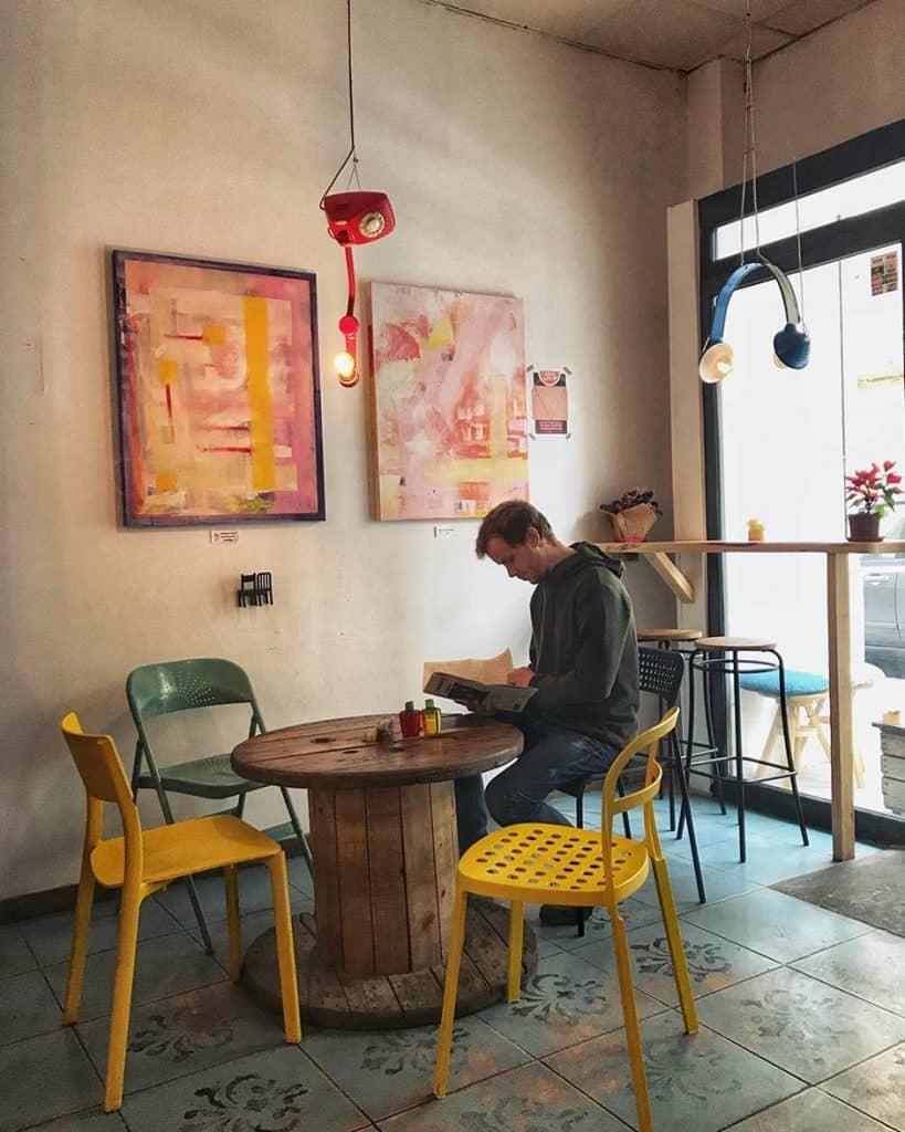 tasty Coffee shop in Valencia Cafe Artysana