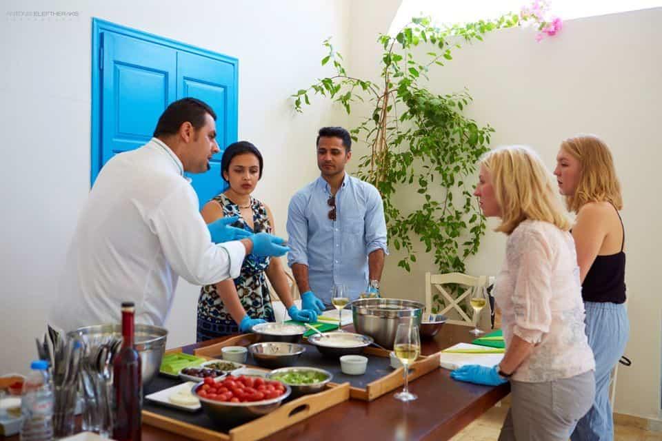 Cooking Class in Santorini