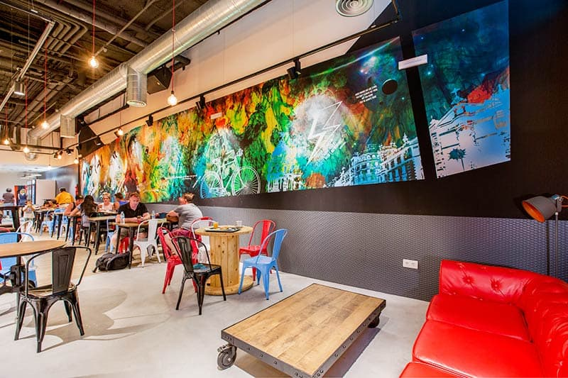 The COOLEST Hostels in Madrid, MOLA Hostel is one of them!