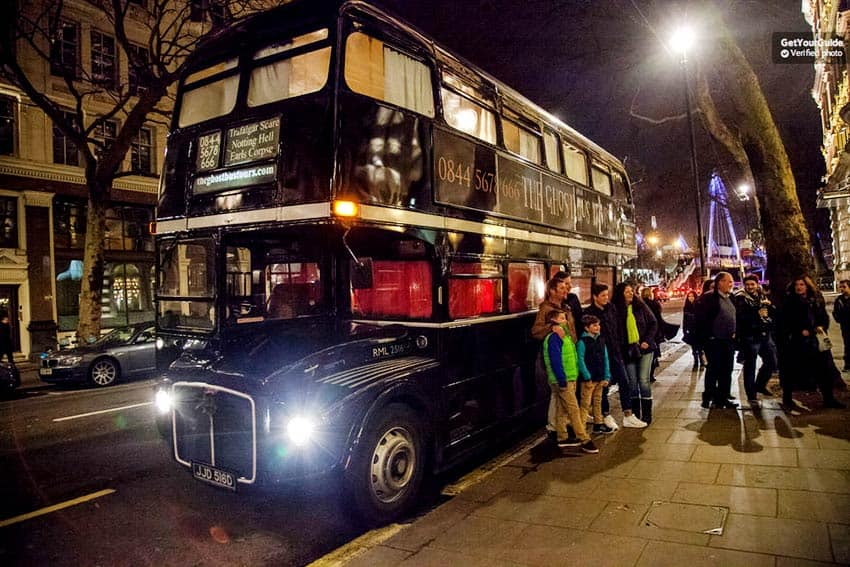 Ghost Tour in London