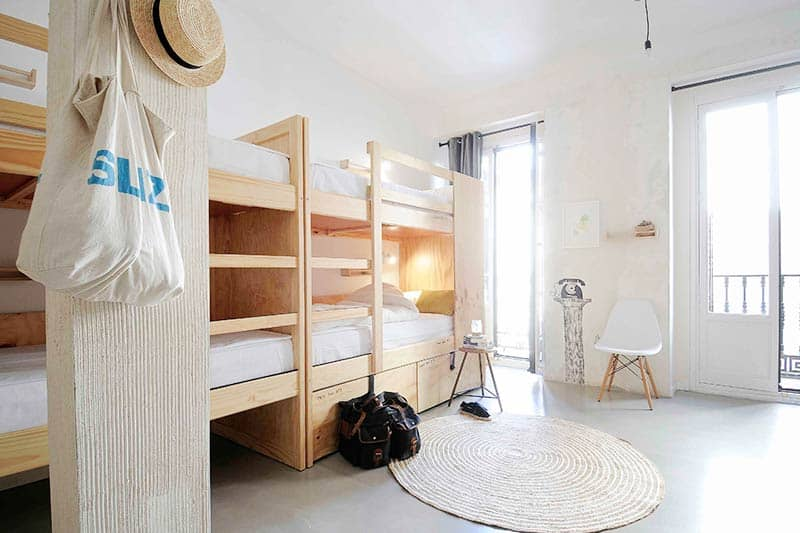 Poshtel and Boutique: The Hat Hostel is one of the coolest Hostels in Madrid we kow!