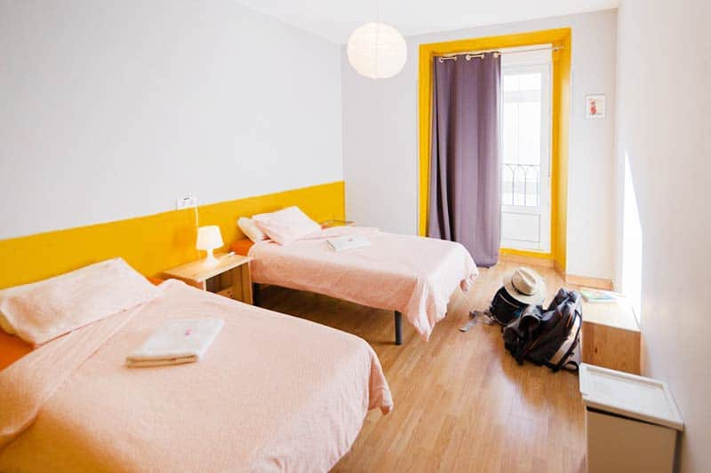 No Bunk Beds at Sungate One, one of the best hostels in Madrid
