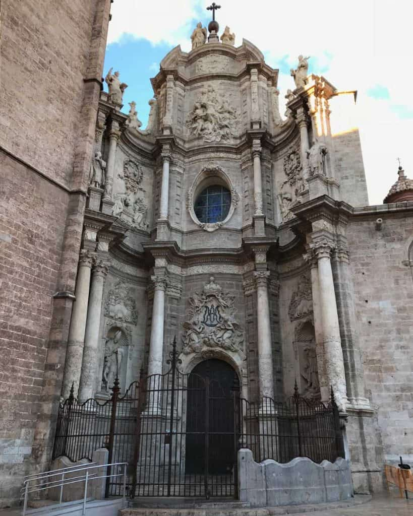 Valencia church is a must do while in Valencia. It is in the city center