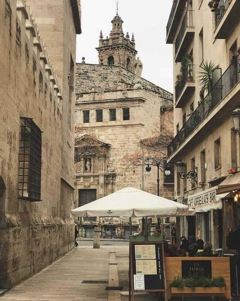 Historical town Valencia